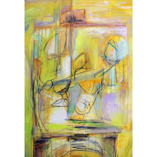 """""""Artist and Model"""" by Trixie Pitts Extra-Large Abstract Oil Painting Preview"""