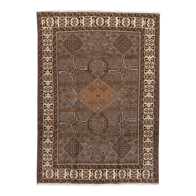 """Antique Mahal Rug, 8'10"""" X 11'3"""" For Sale"""