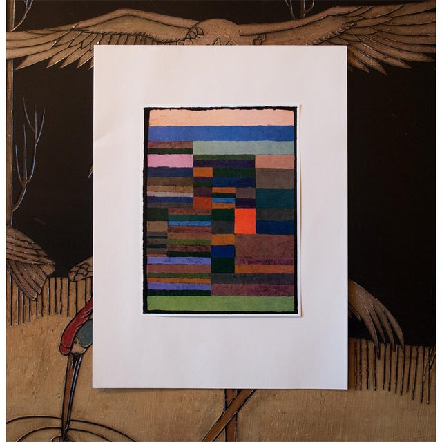 "Abstract 1958 ""Individualized Measurement of Strata"" Lithograph by Paul Klee For Sale - Image 3 of 8"