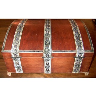 19c Anglo Indian Vizagapatam Gentleman's Casket or Necessaire Preview