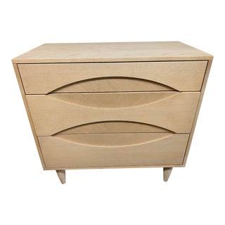 West Elm Three Drawer Dresser For Sale