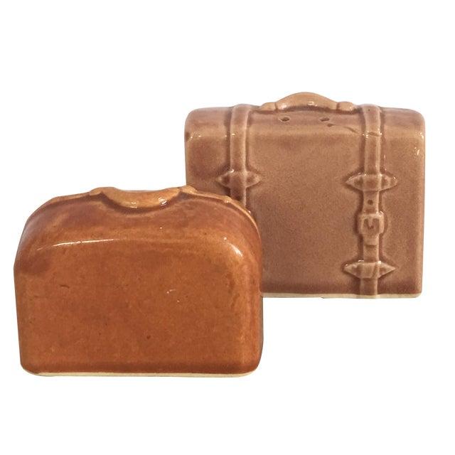 Vintage Suitcase Salt & Pepper Shakers - Image 1 of 6