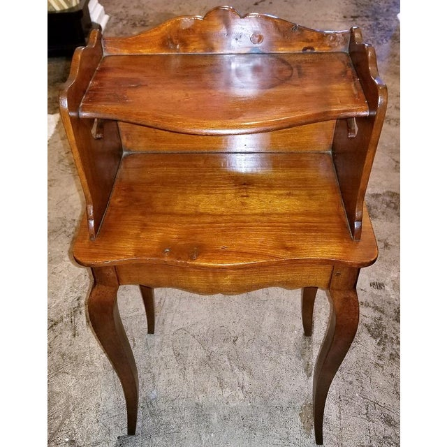 18th Century French Country Cherrywood Side Table For Sale - Image 10 of 10
