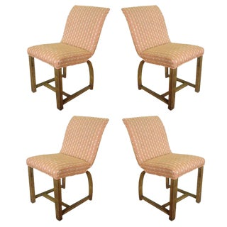 Four Art Deco Gilbert Rohde for Heywood Wakefield Dining Chairs For Sale