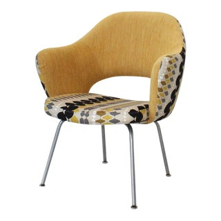 Mid 20th Century Vintage Knoll Saarinen Executive Armchair For Sale