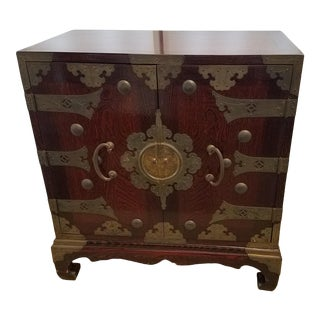 Ethan Allen Asian Cabinet For Sale