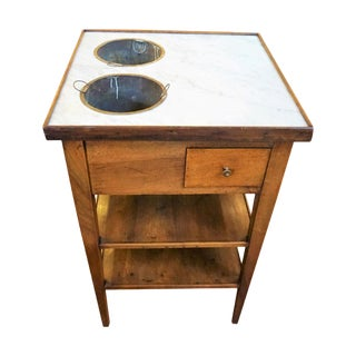 19th Century French Walnut Rafraichissoire For Sale