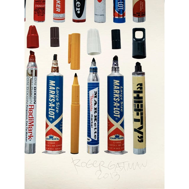 """Contemporary Limited Edition Art Print """"Tools of Criminal Mischief: Markers Edition"""" by Roger Gastman For Sale - Image 11 of 12"""