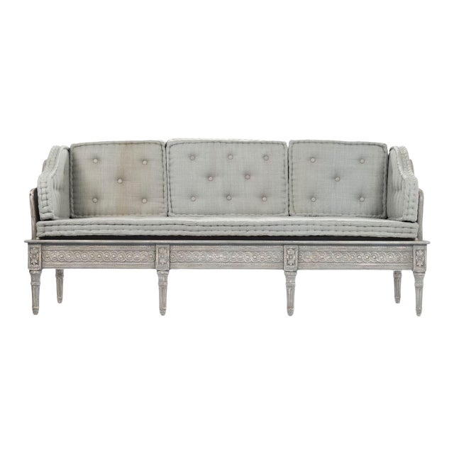 Ridgeway Bench in Slate Gray For Sale