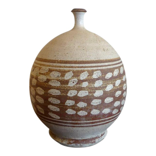 Mid-Century Modern Stoneware Pottery - Image 1 of 6