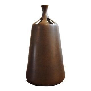 Ursula Meyer Mid-Century Minimalist Pottery Bud Vase