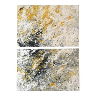"""""""Viennese Crepuscule 1 & 2"""" by Gioi Tran - A Pair For Sale"""