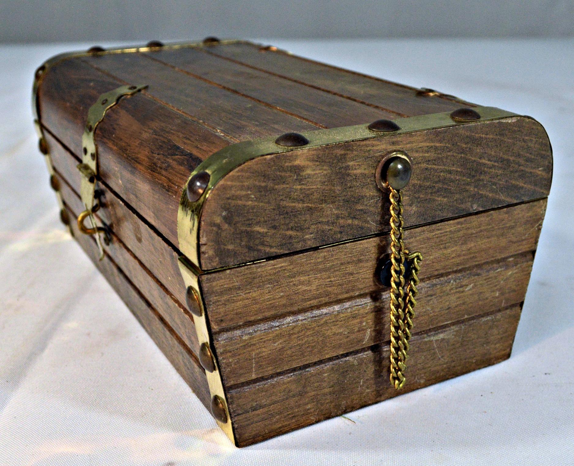 Japanese Wooden Jewelry Box Chairish