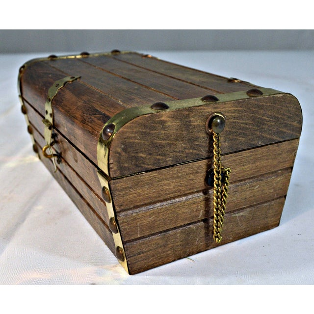Japanese Wooden Jewelry Box - Image 8 of 10