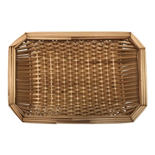 Wicker Guest Towel Basket