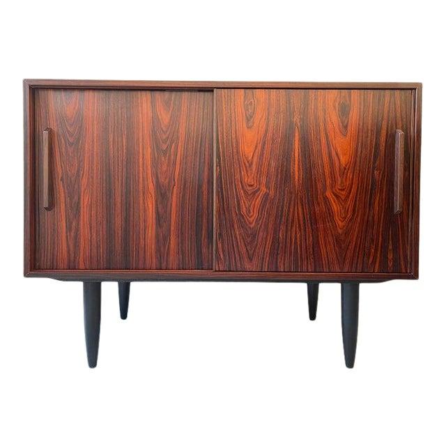 1960s Vintage Danish Rosewood Credenza For Sale
