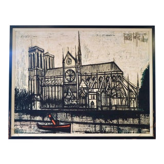 Vintage 1960 Tapestry by Bernard Buffet For Sale