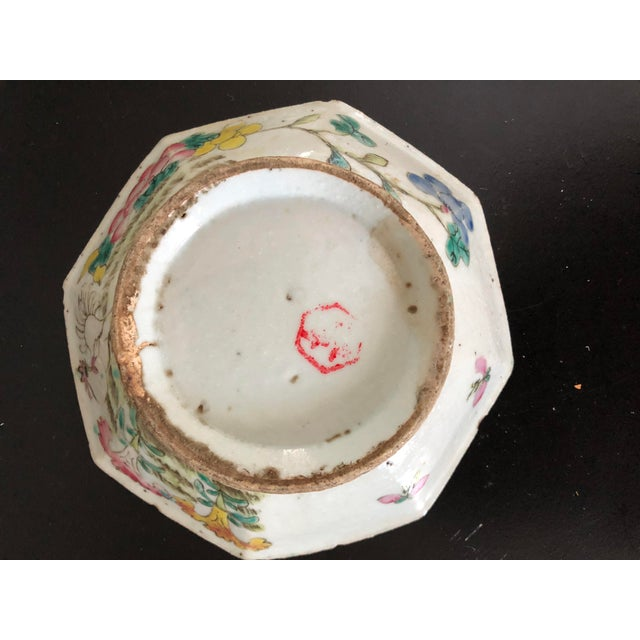 Antique Chinese Export Porcelain Bowls - a Pair - Image 7 of 11