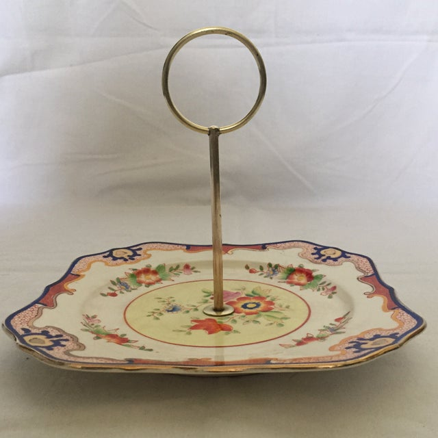 Square Imari Style Candy Dish For Sale - Image 4 of 5