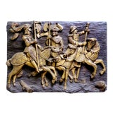 Image of Roman Warriors Wall Sculpture For Sale