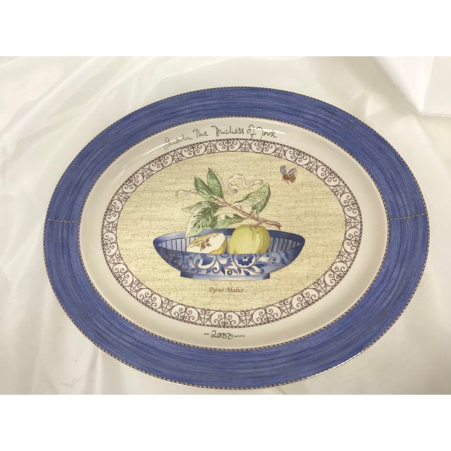 Wedgwood Signed Duchess of York Sarah's Garden Platter For Sale In Saint Louis - Image 6 of 6