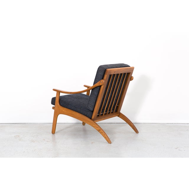 A. Hovmand Olsen Lounge Chair by Hovmand Olsen For Sale - Image 4 of 10