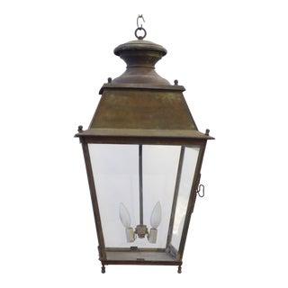 19th Century Verdegris Lantern For Sale