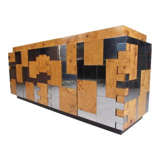 Mid-Century Cityscape Sideboard by Paul Evans for Directional
