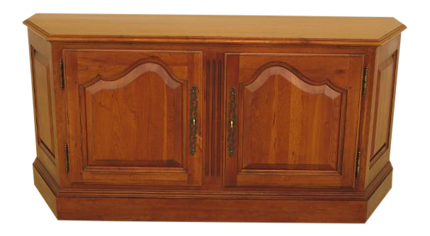 Charmant Ethan Allen 2 Door Cherry Media Cabinet Console