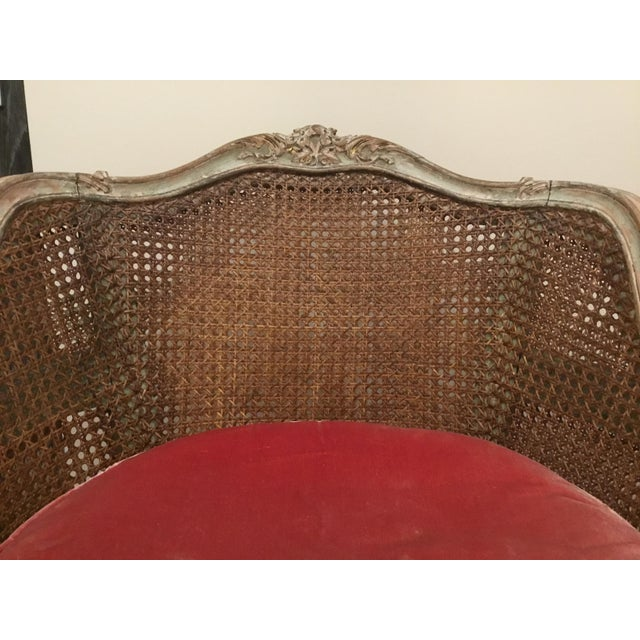 Late 18th Century French Cane Bergere Chairs- a Pair For Sale - Image 9 of 13