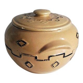 1930s Monmouth Earthenware Bean Pot