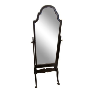 1940s Antique Cheval Mirror For Sale