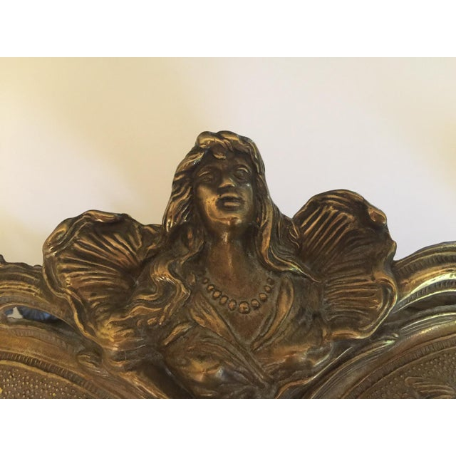 Metal 1920s Bronze Art Nouveau Jardiniere For Sale - Image 7 of 11