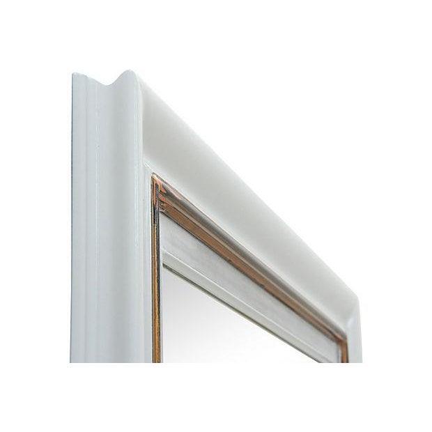 Rectangular Gray Framed Wall Mirror - Image 4 of 5
