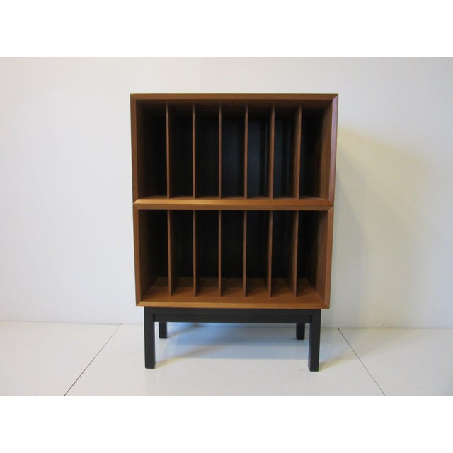 Danish Cado Teak Record Cabinet For Sale - Image 10 of 10