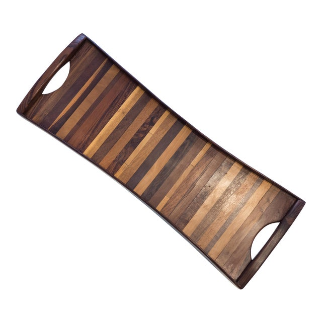 Don Shoemaker Exotic Woods Tray For Sale