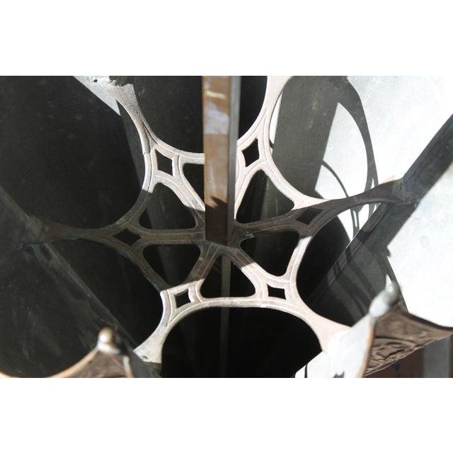 Copper Mythological Umbrella Stand For Sale - Image 8 of 9