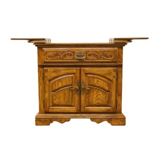 20th Century French Country American Drew Flip-Top Server For Sale