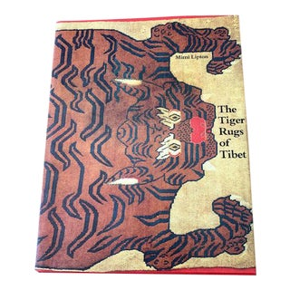 Vintage Tiger Rugs of Tibet Art Book For Sale