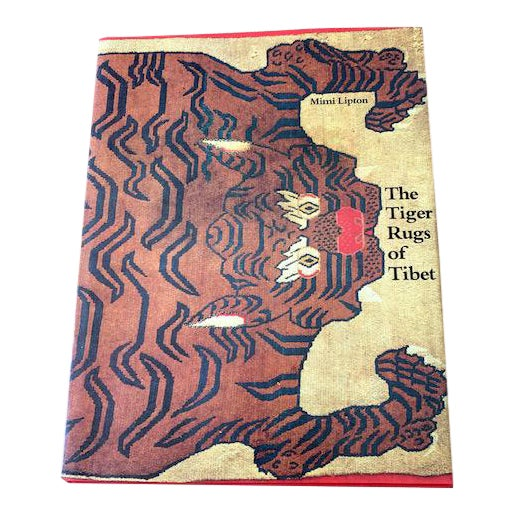 Vintage Tiger Rugs of Tibet Art Book For Sale