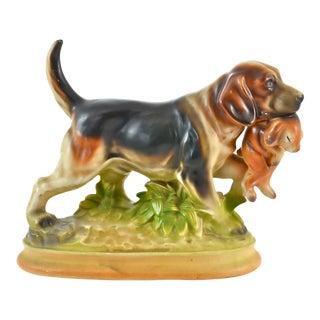 Vintage Hunting Fox Hound Figurine For Sale