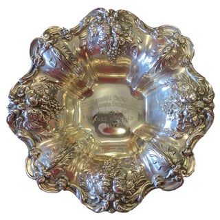 Sterling Silver Reed & Barton Francis I Bonbon Dish For Sale