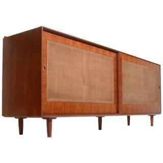 Finn Juhl Cane Front Credenza For Sale