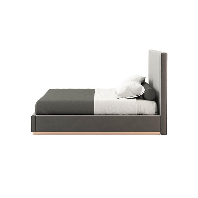 Contemporary Contemporary Full Corin Bedframe For Sale - Image 3 of 5