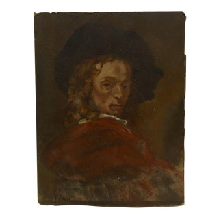 """""""Fancy Dandy"""" Original Signed Painting on Paper Board by Frederick McDuff"""