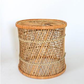 Boho Style Wicker Chair and Table Preview