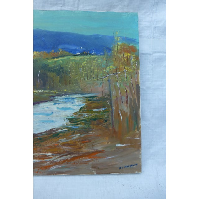Modernist Nature Painting by H.L. Musgrave - Image 6 of 8