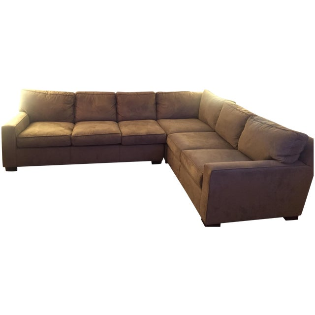 Mitchell Gold + Bob Williams Sectional Sofa For Sale - Image 10 of 10