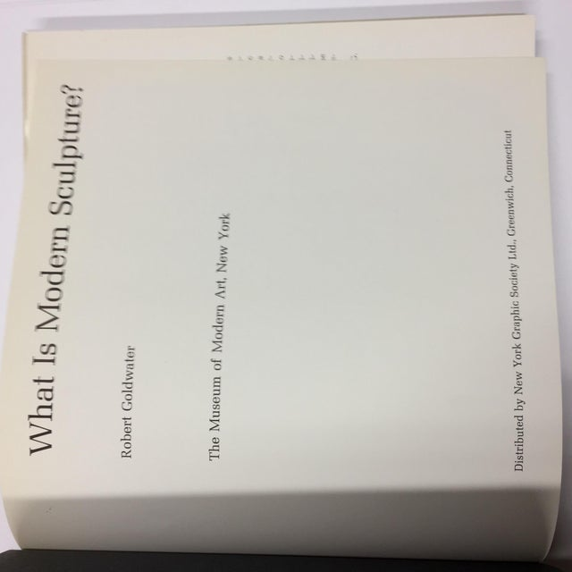 """1969 """"What Is Modern Sculpture?"""" Museum of Modern Art Book For Sale - Image 4 of 11"""