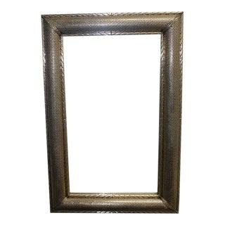 Silver Moroccan Mirror For Sale